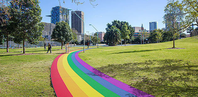 City-of-Sydney-Prince-Alfred-Park-Rainbow-Path