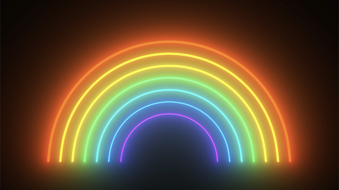 APN Neon Rainbow