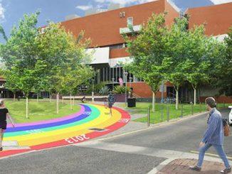 ACC Rainbow Walk artist impression